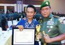 Produktif Pemberitaan TNI AD, Wartawan Okebung.com Terima Penghargaan