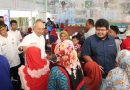 Wali Kota Bantu 133 KK Korban  Angin Puting Beliung Di Marelan