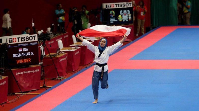 Kalahkan Taekwondoin Iran, Delfia Rosmaniar Sumbang Emas Disaksikan Presiden Jokowi