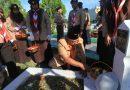 Peringati Hari Jadi Pramuka Dengan Ziarah Bersama Di TMP Bukit Barisan