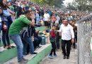 Nonton PSMS vs Persela,  Edy Rahmayadi Turun ke Tribun Temui Suporter