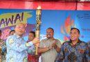 Wali Kota Terima Obor Asian Para Games 2018 Untuk Diarak Keliling Medan