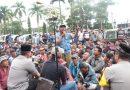 Ribuan Penarik Becak Bermotor  Deklarasi Pemilu Damai