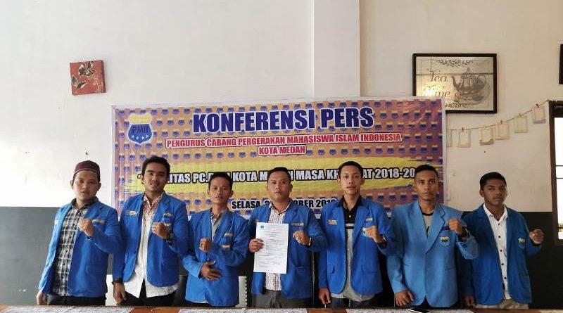 PC PMII Diterpa ISU Miring, Joni Sandiri: Jangan Jalin Hubungan dengan Oknum-Oknum Mengatasnakamkan PC PMII Kota Medan