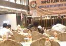 Pleno Terbuka DPTb KPU Medan, Proses Pemutahiran Data Telah Berulang Hampir Setahun