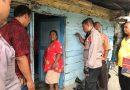 Di Tengah Keprihatinan Ekonomi Warga, Polsek Medan Timur Sambangi Keluarga IBrahim dengan Sembako
