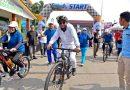 Bersepeda Bersama Masyarakat, Gubernur Sumut Ingatkan Semangat Para Pejuang