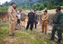 Bupati Karo Tinjau Lokasi Banjir Bandang di Desa Semangat Gunung