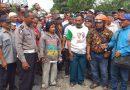 Terkait Pelaksanaan Pemilu, Ratusan Parbetor Aksi di KPU Sumut