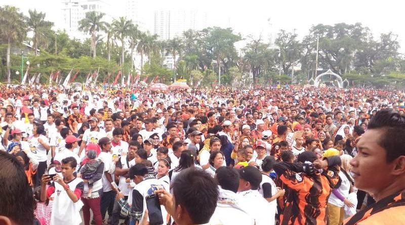 Pemuda Pacasila Deklarasi Dukung 01, Jokowi Sederhana dan Tak Punya Bisnis di Pemerintahan