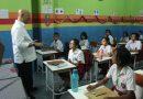 Wali Kota Tinjau USBN di SD Yaspenas Cenderamata & UNBK di SMP Negeri I