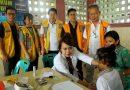 Lions Club, IDI dan PFI Medan  Baksos Pengobatan Gratis
