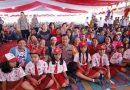 Kapoldasu Sambangi Anak-Anak Korban Erupsi Gunung Sinabung