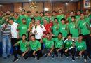 Silaturahmi dengan PSMS, Gubsu Targetkan Tahun 2023 Sumut Miliki Stadion Internasional