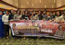 """Gala Premiere Film"""" Sang PRAWIRA"""" di Sumut, Kapolsek Medan Helvetia Nobar Dengan Anggotanya"""