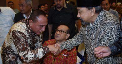 Edy Rahmayadi Silaturahmi dengan Masyarakat Sumut di Jakarta, Harapkan Berkontribusi Bangun Sumut