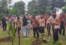 Bersama 1000 Orang Pramuka, Bupati Zahir Resmikan Hutan Raya Etnobotani dan Bumi Perkemahan