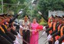 AKBP  Yemi Mandagi Disambut, AKBP Eddy Suryantha Tarigan Dilepas