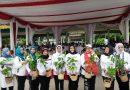 TP PKK Kota Medan Konsen Peduli Lingkungan dengan Penghijuan