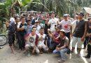 Bupati Asahan Gotong Royong Bersama Warga Dua Desa