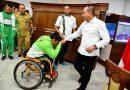 Pemprosu Dukung Atlet Disabilitas Bertanding di Peparnas 2020