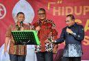 Gubernur, Pangdam, dan Kapolda Sumut Nyanyi Bareng