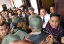 Aksi Tarik Menarik dan Dorong, Sekda Medan VS Rusdi Sinuraya