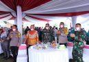 Pesta Panen Raya Nusantara TNI-Polri Secara Virtual, Kapoldasu & Pangdam I/BB Hadiri
