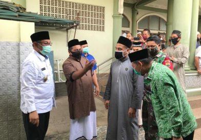 Akhyar Bangun Silaturahmi & Serap Aspirasi Jamaah Masjid Al Falah Denai
