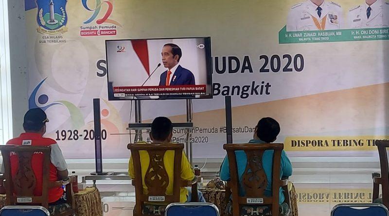 Ketua DPD AMPI Kota Tebingtinggi Bersama Kader bagi Sembako & Masker Gratis ke Masyarakat