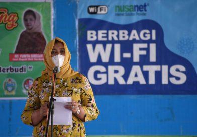Pemprov Sumut Berbagi Wifi Gratis untuk Belajar Siswa