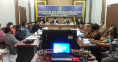 Tidak Propesional KPU dan Bawaslu Karo Disidang DKPP
