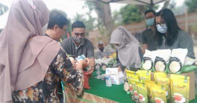 Bantu Masyarakat di Bulan Puasa, PTPN 2 Gelar Pasar Murah