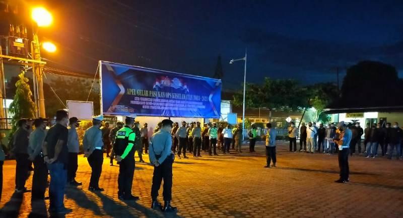 Patroli Gabungan  Asmara Subuh di Tanjungbalai Amankan Sepeda Motor