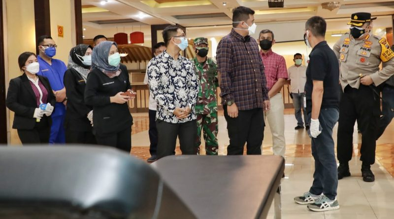 Saksikan Pasien Pertama Masuk Isoter, Wali Kota Medan Fokuskan OTG Untuk Jalani Isolasi di Isoter