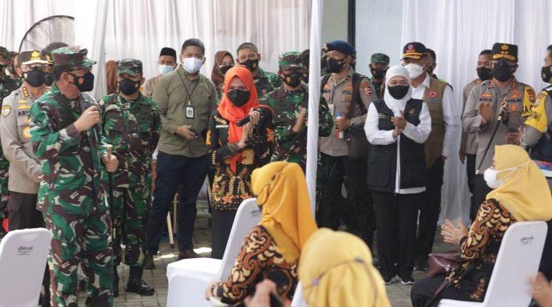 Panglima TNI Apresiasi Kolaborasi Tim Nakes