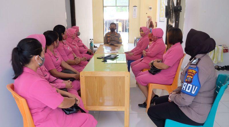 Kapolres Tanjung Balai Berikan Apresiasi kepada Tim Vaksinator Polres Tanjung Balai
