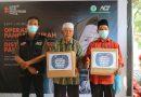ACT Medan Kolaborasi Bagikan 100 Paket Pangan Gratis