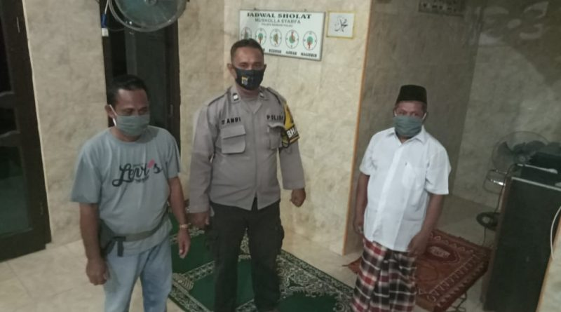 Perkuat Silaturahmi, Kapolres Asahan Gencarkan Gasuling Damas di Mesjid