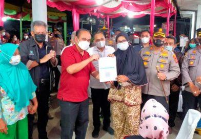 Wamendes PDTT Tinjau Vaksinasi di Batu Bara