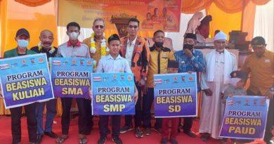 Kantor PAC Tanjung Morawa Diresmikan, Ketua DPD Hanura Sumut Kodrat Shah Ajak Kader Berlaku Jujur