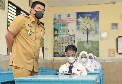 Sejumlah SMP Lakukan Pengawasan Prokes Ketat Selama PTM